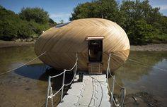 El huevo flotante autosuficiente | Arquitectura