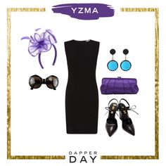 3 chic and simple looks for spring Dapper Day | Yzma-inspired vintage outfit set | [ https://style.disney.com/fashion/2016/04/28/3-looks-for-spring-dapper-day/ ]