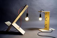 Shelf lamp design by William Raffredi 5  #pallets, #lamp