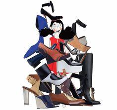 Céline shoes, Del Pozo