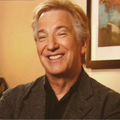 "2005 - This picture of Alan Rickman is from an interview he gave about ""Snow Cake."""