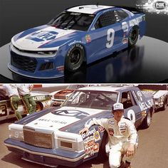 Chase Elliott's Darlington throwback honors Bill Elliott's paint scheme from Chase Elliott Car, Bill Elliott, Nascar Race Cars, Plastic Model Cars, Mode Of Transport, Dale Earnhardt Jr, Fox Sports, Paint Schemes, Vintage Racing