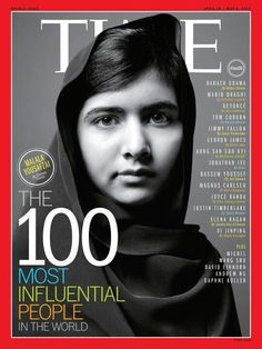 Congrats to Malala Yousafzai on her Nobel Peace Prize! At only 17 years old she has been shot in the head fighting for her education, written a best-selling book, and has changed the world unimaginably. She is my inspiration and my idol. Check out her out! So proud of you, Malala.