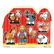 Farm Friends Jumbo Knob Puzzle