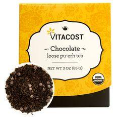 Vitacost Organic Loose Pu-erh Tea Chocolate