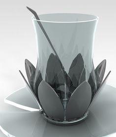 Beautiful Tea Set Design Named Nilufer