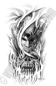 Fine-Art-Tattoo » Skull