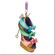 Disney Runway Shoe Ornaments