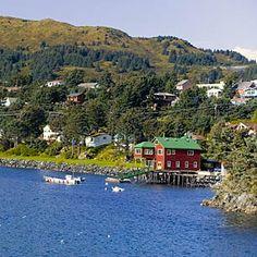 Kodiak, Alaska is on My Husbands wish list.