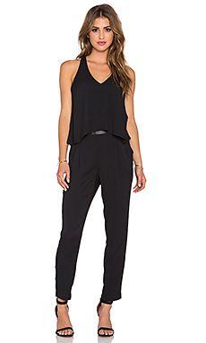 26f64cff7f0 Ella Moss Stella Jumpsuit in Black Designer Jumpsuits
