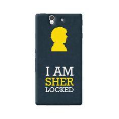 Sherlock Sony Xperia Z Case from Cyankart