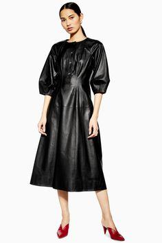 c8a72e4adbf   Leather Dress by Boutique - Dresses - Clothing - Topshop Europe Boutique  Dresses