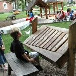 Very cool musical instrument for outdoors. Kids Outdoor Play, Outdoor Play Areas, Backyard Play, Outdoor Learning, Garden City Ny, Natural Play Spaces, Music Garden, Outdoor Classroom, Music For Kids