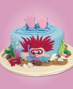 An incredible #UnderTheSea #Cake for a happy customer