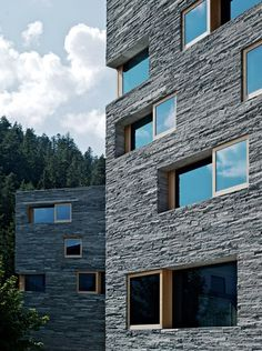 Architecture in line with the environment at Rocksresort