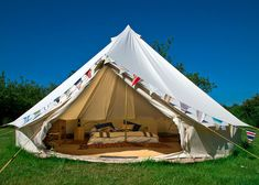 Bell Tent Look at these great conversion camp tents. They are very cool www.tentsngear.com