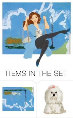"""Oh what a beautiful day for a swing"" by leaff88 ❤ liked on Polyvore featuring art"