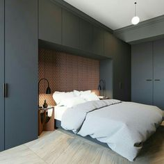 Small Home Layout 648307308831613939 - Small bedroom design ideas Source by Small Bedroom Designs, Small Room Design, Modern Bedroom Design, Bed Design, Home Design, Interior Design, Modern Design, Interior Modern, Square Bedroom Ideas