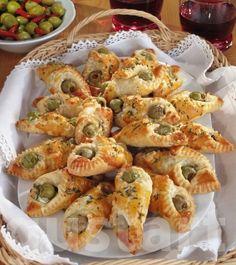 Lajos Mari konyhája - Krémsajtos- olívás papucs
