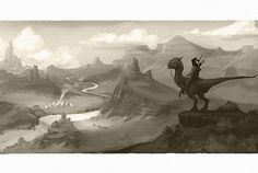 I wanted to explore the region of the native American tribe in my old west dinosaur series
