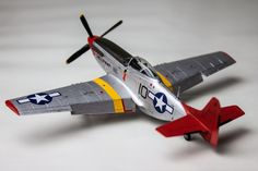 "North American P-51D Mustang, pilot 1st Lt Spurgeon Ellington, 100th Fighter Squadron, ""Tuskegee Airmen"", base Ramitelli, Italy, December 1944, 1/72, Airfix"
