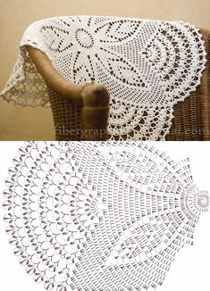 Bildergebnis für mandalas tejidos al crochet patrones Crochet Table Runner Pattern, Free Crochet Doily Patterns, Crochet Doily Diagram, Crochet Tablecloth, Crochet Chart, Crochet Motif, Crochet Designs, Filet Crochet, Thread Crochet