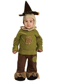 Little Scarecrow Toddler Costume from the Wizard of Oz.