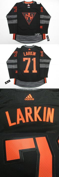 Hockey-Other 780: Dylan Larkin Team North America Black 2016 World Cup Of Hockey Adidas Jersey -> BUY IT NOW ONLY: $199.99 on eBay!