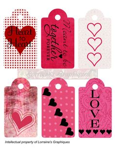 Romantic Gift Tags