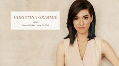 In Loving Memory Of Christina Grimmie Tribute \ Biography | March 12th, 1994 - June 10th, 2016