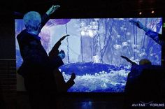James Cameron Interactive Display EMP Avatar Seattle.