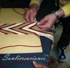 fajon Tapestry Crochet, Native American, Hand Weaving, Braids, Textiles, Healthy, Ideas, Girdles, Espadrilles