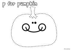 FREE Pumpkin Pinning Page