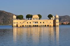 Jal Mahal or Water Palace is a palace located in the middle of the Man Sagar Lake in #Jaipur city of #Rajasthan, #India.