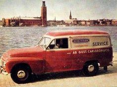 Volvo Duett in Stockholm! Sweden