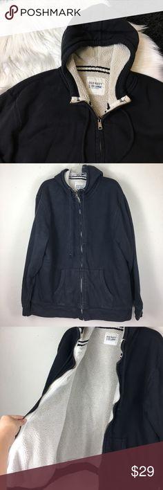 Men's Old Navy Black Zip Up Hoodie Men's Old Navy Black Zip Up Hoodie. Size XXL in good used condition. Old Navy Shirts Sweatshirts & Hoodies