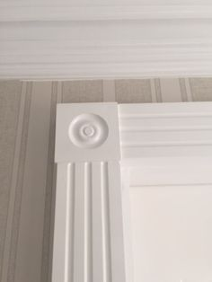 rosette and coving detail