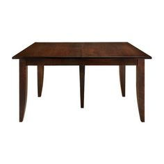 "Soho 60"" Rectangle Extension Dining Table In Walnut Cherry"