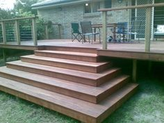Sunshine Coast Decking Stairs, Hardwood and Timber Stairs