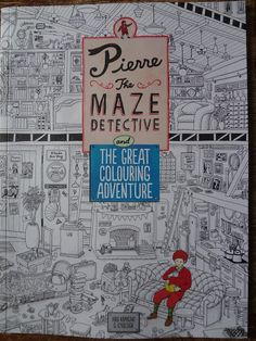 It's all about stories!: BOOK REVIEW   Pierre the Maze Detective