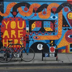 You are here :) more Great Wall art in London #shoreditchstreetart #shoreditch #london #londoncity by busta1966 from Shoreditch feed from Instagram hashtag #shoreditch  www.justhype.co.uk Hype Store - Boxpark Shoreditch.