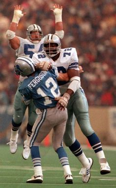 Ed Jones and Randy White