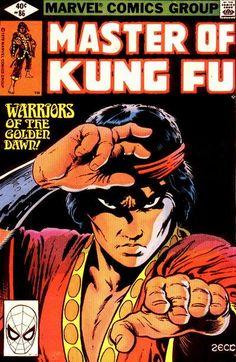 Master of Kung-Fu Marvel Comics Mike Zeck cover! Kung Fu, Comic Book Artists, Comic Books Art, Comic Art, Marvel Comic Character, Marvel Characters, Cartoon Characters, Marvel Comics, Book Cover Page
