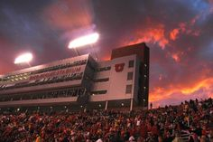 Rice Eccles Stadium - University of Utah...no greater view in the entire nation. GO UTES!