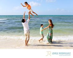 Jorge Rodriguez Photography - Destination Wedding Photography & Portrait based in Playa del Carmen, covering Tulum, Cozumel, Isla Mujeres, Cancun & Riviera Maya Mexico  - Sandos Caracol Eco Resort Family Portrait Photography: This is the Margain family from Monterrey, Mexico. They were staying at Sandos Caracol Eco Resort and invited me to spend couple hours with them having an awesome time on the beach early morning. Location: Sandos Caracol Eco Resort. Keywords: Sandos Caracol Eco Resort…