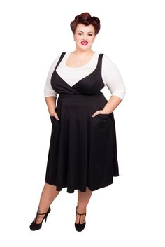Wrap Pinafore Dress