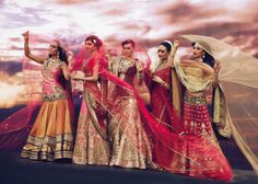 Tarun Tahiliani..what a colorful shot