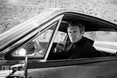 Steve McQueen in the epic film– Bullitt.