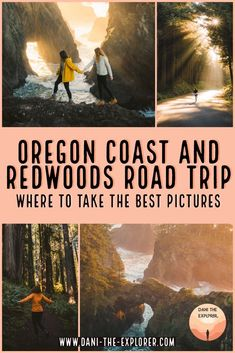 The Perfect NorCal & Oregon Coast Road Trip For Unbelievable Views - - Looking to see some of the most beautiful sights in the PNW? Check out this NorCal and Oregon Coast road trip that'll make your jaw drop! Oregon Vacation, Oregon Road Trip, Oregon Trail, Oregon Coast Roadtrip, Road Trips, Crater Lake Oregon, Southern Oregon Coast, Bus Trips, Road Trip Map