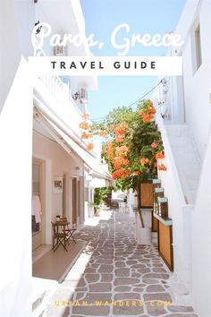 Complete travel guide to Paros, Greece. One of the prettiest Greek Islands found… Complete travel guide to Paros, Greece. One of the most beautiful Greek islands of the Cyclades Vacation Destinations, Dream Vacations, Vacation Trips, Oh The Places You'll Go, Places To Travel, Zakynthos, Paros Greece, Santorini Greece, Patras